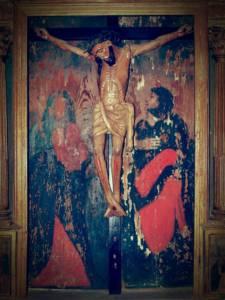 Cuadro de Cristo Gótico